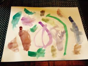 Abstract,  by Penelope Hildebrand Daoust