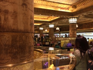 The Egyptian Room, Harrods, London