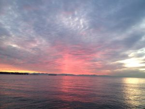 November sunrise in West Vancouver, BC (photo courtesy of Marie Payette-falls)