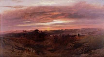 "John Martin, 1789-1854: ""Solitude"""