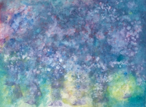 Hiatus: A painting by six year-old artist Iris Grace Halmshaw