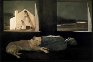 Andrew Wyeth. Night Sleeper. 1979