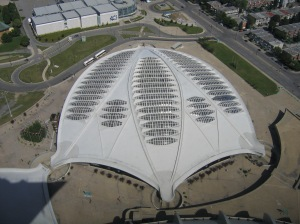 The former Velodrome has been converted in a Biodome, Montreal.