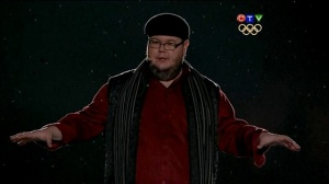 Shayne Koyczan at the Vancouver Opening Ceremony, 2010