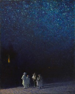Edward Potthast. Starry Night. 1918