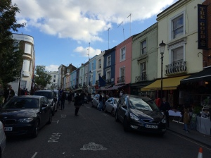 Portobello Road, London. England