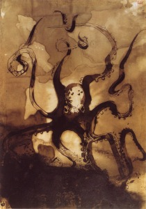 Victor Hugo, La Pieuvre