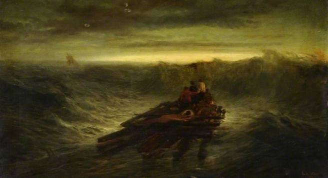 A GLEAM OF HOPE Joseph Wrightson MacIntyre (1842-1897)