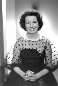 Actress Mary Wickes